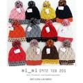 Mũ Len Lai Màu