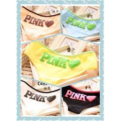 Combo 5 quần lót  nữ Pink - C499