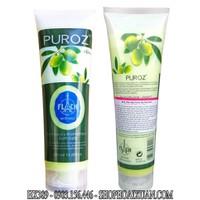 Muối tắm trị thâm trị mụn lưng PUROZ Olive pháp - HX839