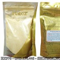 Bột đắp mặt nạ dẻo collagel vàng nano puroz - HX976