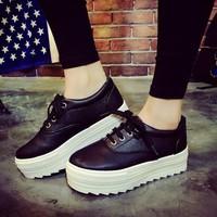 Giày Bánh Mì Da G885