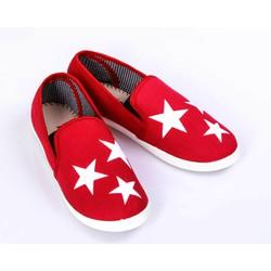 Giày Slip On Ngôi Sao đỏ Phong cách