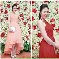 Đầm ren cổ yếm váy cách điệu kiêu sa sành điệu sDMX172