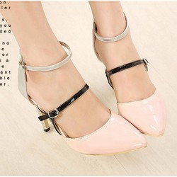 Giày cao gót mũi nhọn color CG14