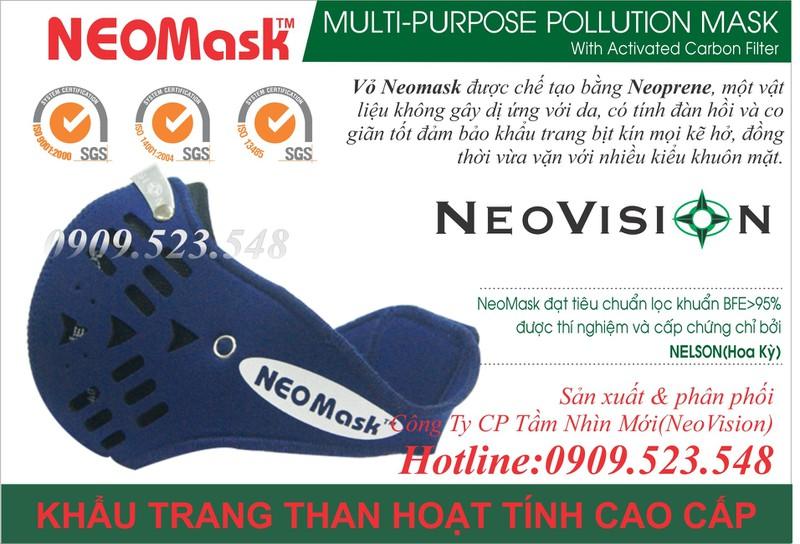 Khẩu trang than hoạt tính Neomask 4