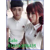 Bộ 2 áo thun đôi nam nữ giá 2 áo size S,M  AT0073