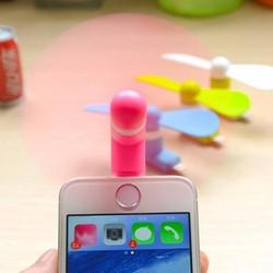 Quạt mini 2 cánh dành riêng cho iphone 5 6