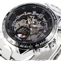 Đồng hồ Automatic lộ máy Winner - Mã số: DH15236
