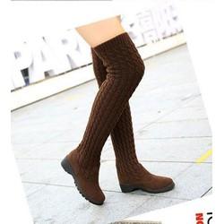 Mã số MM90035 - Bốt len sành điệu, ấm áp