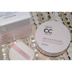 THE FACE SHOP AURA COLOR CONTROL CC CREAM