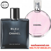 Bộ nước hoa Nam Nữ Chanel sang trọng, lịch lãm