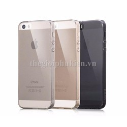 Ốp lưng dẻo trong suốt iPhone 5, 5S chính hãng HOCO Light
