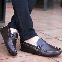 Giày lười nam da bò cao cấp mẫu cực hot ZS019