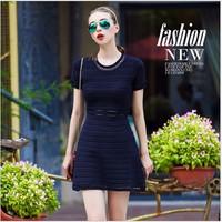 Đầm suông thời trang cao cấp OY05406