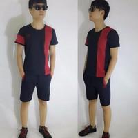 Bộ quần áo thể thao ngắn tập gym, chạy bộ BS06C