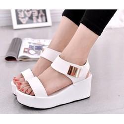 SD184T - Giày Sandal Nữ Cá Tính Đơn Giản
