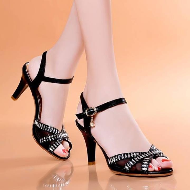 HÀNG NHẬP: Giày cao gót gắn đá sang trọng korea 5