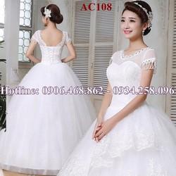 Áo cưới giá rẻ AC108