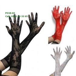 P018 Bao tay lưới có 3 màu đen đỏ trắng