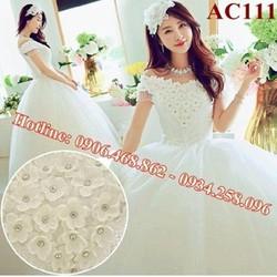 Áo cưới ngọt ngào AC111