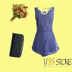 [YBS Store] Jumsuit Ren Xanh Đen Cao Cấp Thái Lan