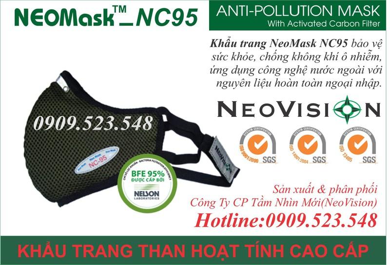 Khẩu trang than hoạt tính Neomask NC95 6