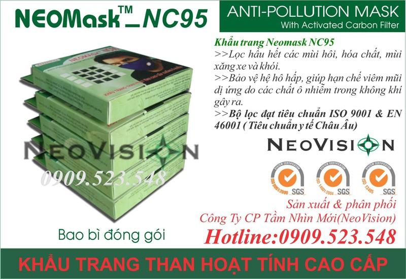 Khẩu trang than hoạt tính Neomask NC95 9
