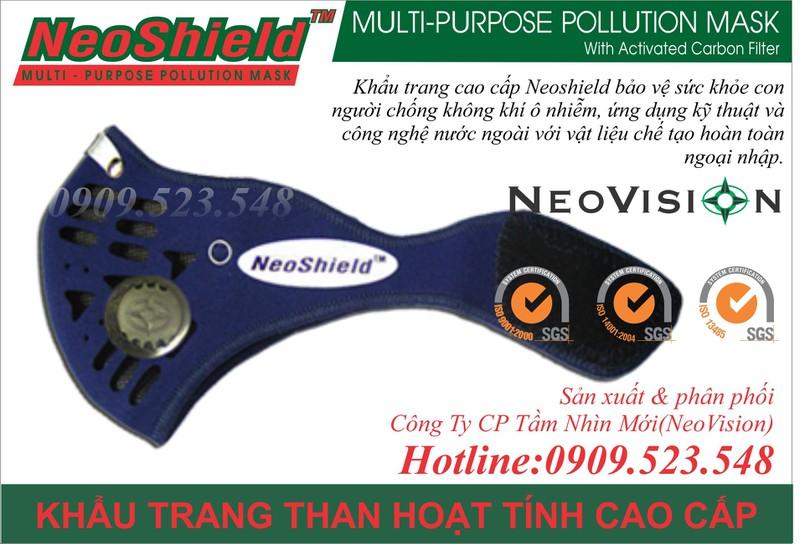 Khẩu trang than hoạt tính NeoShield 4