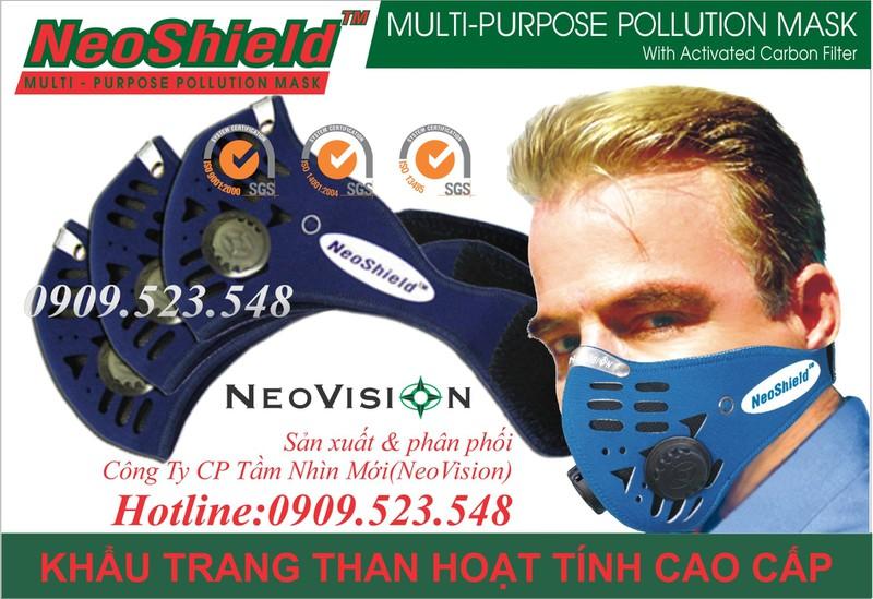 Khẩu trang than hoạt tính NeoShield 7