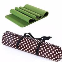 Bộ 2 Thảm tập Yoga siêu cao cấp TPE đúc 1 lớp - có túi đựng đi kèm