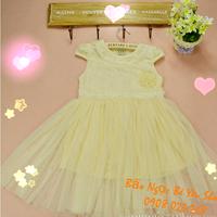 Đầm Công chúa đính hạt châu