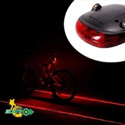 Đèn tín hiệu lazer xe đạp