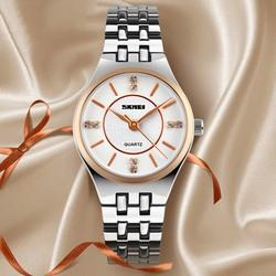 Đồng hồ nữ dây kim loại Skmei TASK068