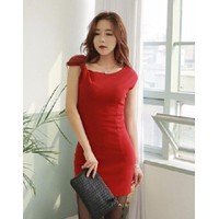 Đầm Nơ Cách Điệu Xuân DDP08300 Mã sản phẩm:08300