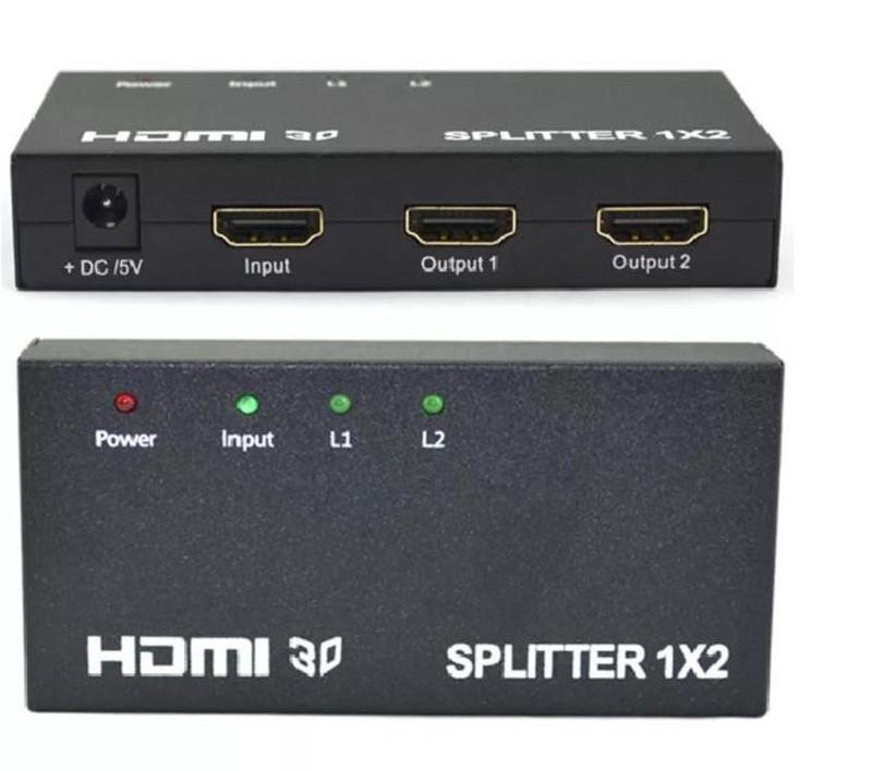 Bộ Chia HDMI 1 ra 2 Full HD 1080 hỗ trợ 3D 2