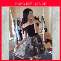 Đầm Xòe Váy Hoa - 1428