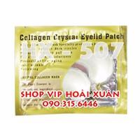 Mặt nạ collagen trị thâm giảm nhăn vùng mắt combo 10 miếng - HX505
