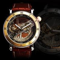 Đồng hồ Automatic lộ máy Janagar - Mã số: DH15215