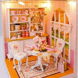 Mô hình nhà gỗ diy - Qùa tặng bạn gái - TINY HOUSE