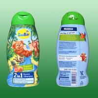 Dầu gội Sữa tắm trẻ em 2 in 1 Saubär - hàng nhập Đức