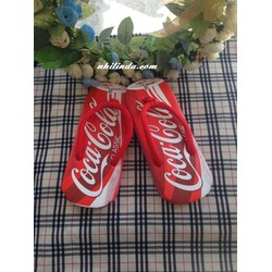 Dép kẹp hình lon Cocacola