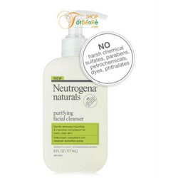 Sữa rửa mặt Neutrogena purifying facial cleanser 177ml