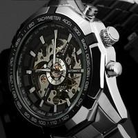 Đồng hồ Automatic lộ máy Winner - Mã số: DH15214