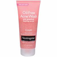 Sữa Rửa Mặt Cho Da Mụn Neutrogena Oil-Free Acne Wash Foaming Scrub