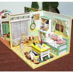 Mô hình nhà gỗ DIY - Pastoral Life - TINY HOUSE
