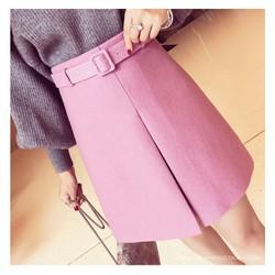 Chân váy ngắn điệu đà, xinh yêu có kèm belt - Mã số MM80407
