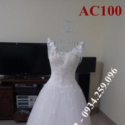Áo cưới tinh khôi AC100