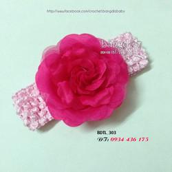 Băng đô hoa xinh cho bé yêu