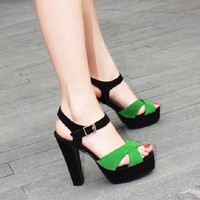 HÀNG CAO CẤP CHẤT NGOẠI NHẬP - Giày cao gót nữ CGV25