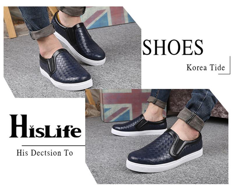 CX 119 - Giày lười Hàn Quốc giả da cá tính mẫu mới 2016 10